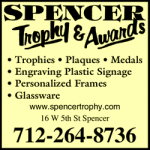 Spencer Trophy & Awards
